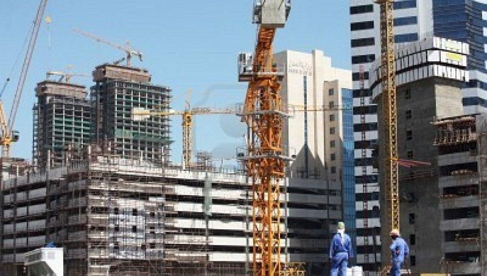 Trabajos de construcción en Catar