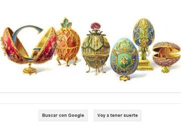 Doodle sobre el joyero ruso