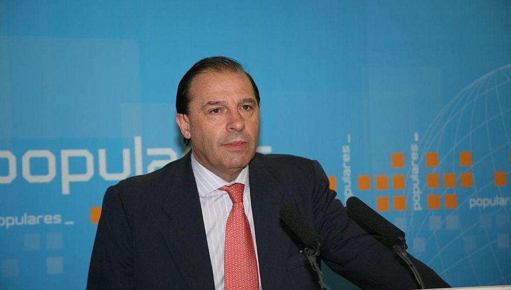El portavoz 'popular' de Economía en el Congreso, Vicente Martínez-Pujalte