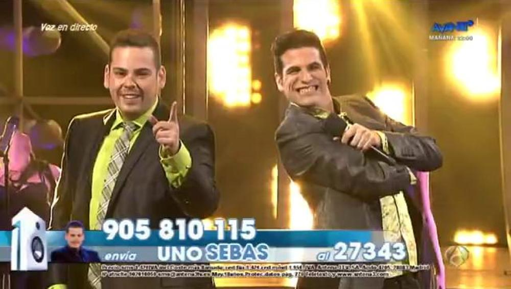 Edu Cayuela y Sebas