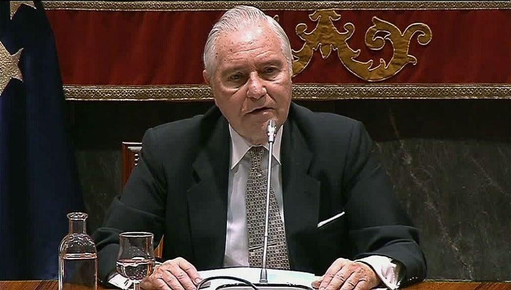 Carlos Dívar,  expresidente del CGPJ