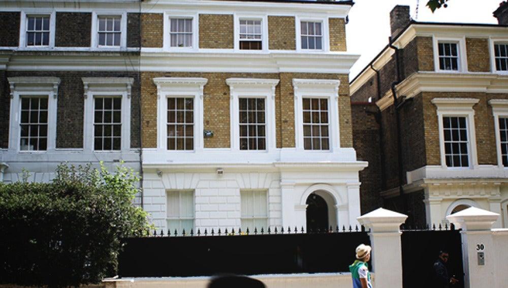 La casa de Amy Winehouse en Camden