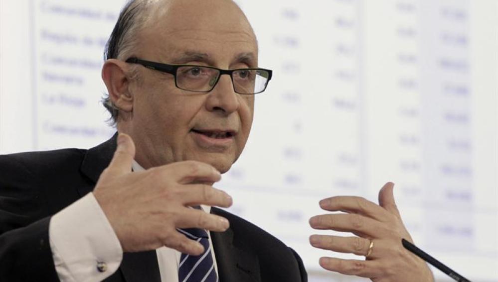 El ministro de Hacienda y Administraciones Públicas, Cristóbal Montoro