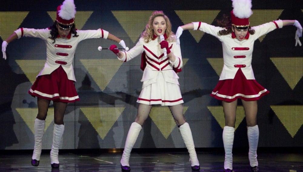 Madonna, en Israel
