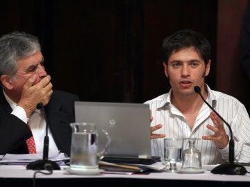 El viceministro argentino, Alexander Kicillof