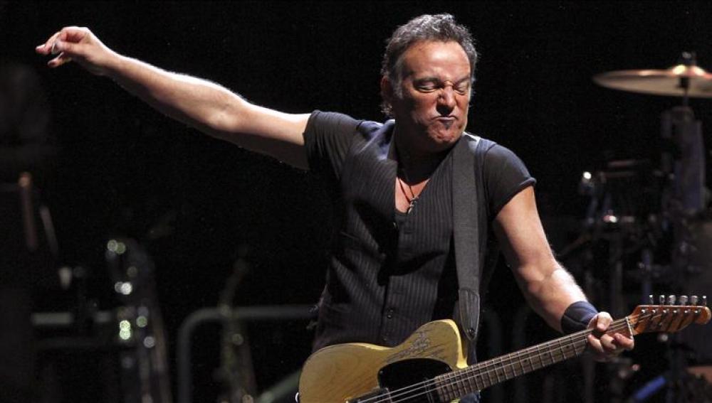 'The Boss' durante el concierto