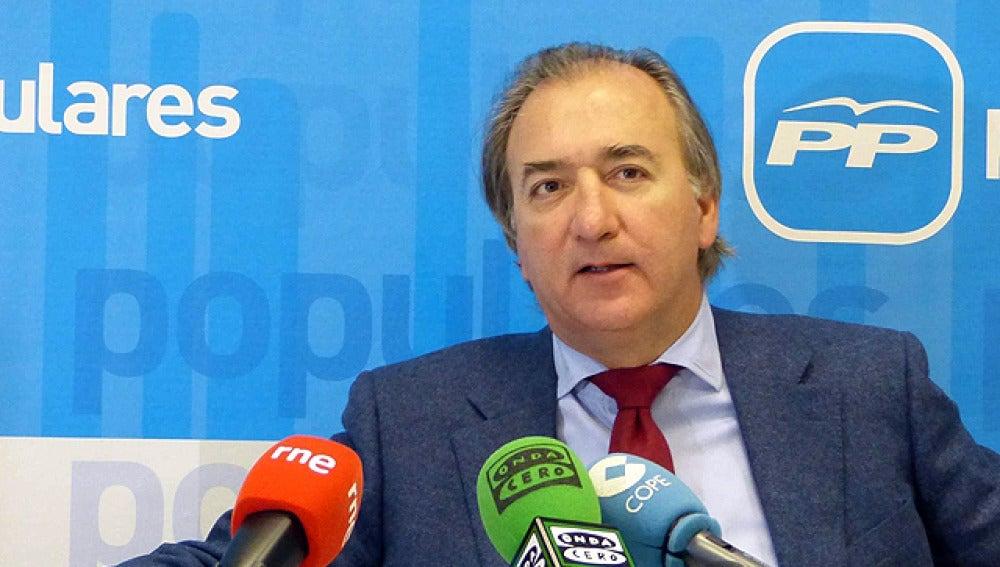 José María Beneyto, portavoz de Exteriores del PP