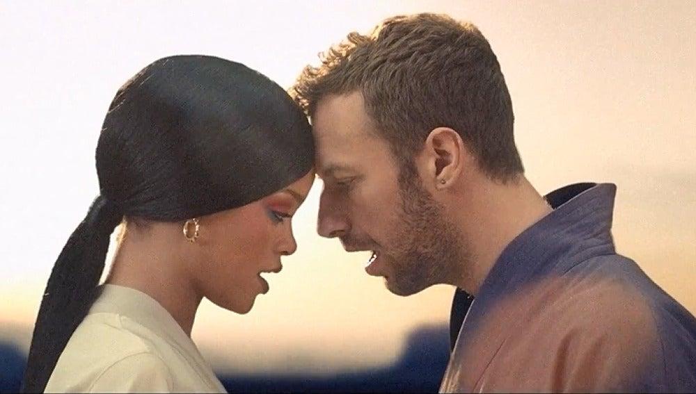 Coldplay y Rihanna