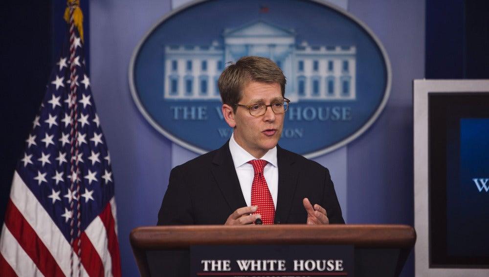 Jay Carney, portavoz de la Casa Blanca