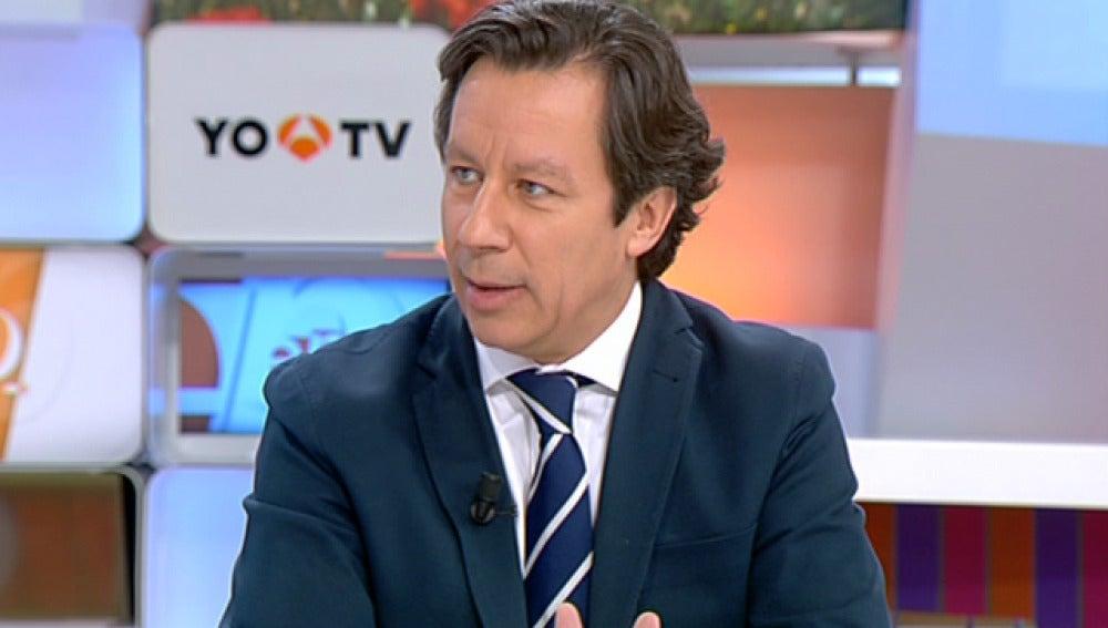Carlos Floriano, en Espejo Público