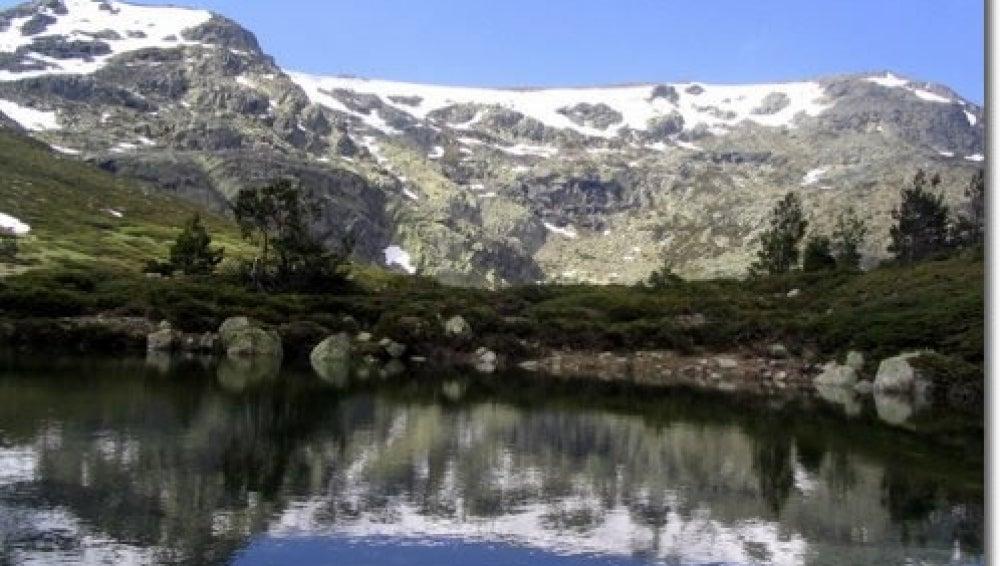 Perspectiva de la Sierra de Guadarrama.