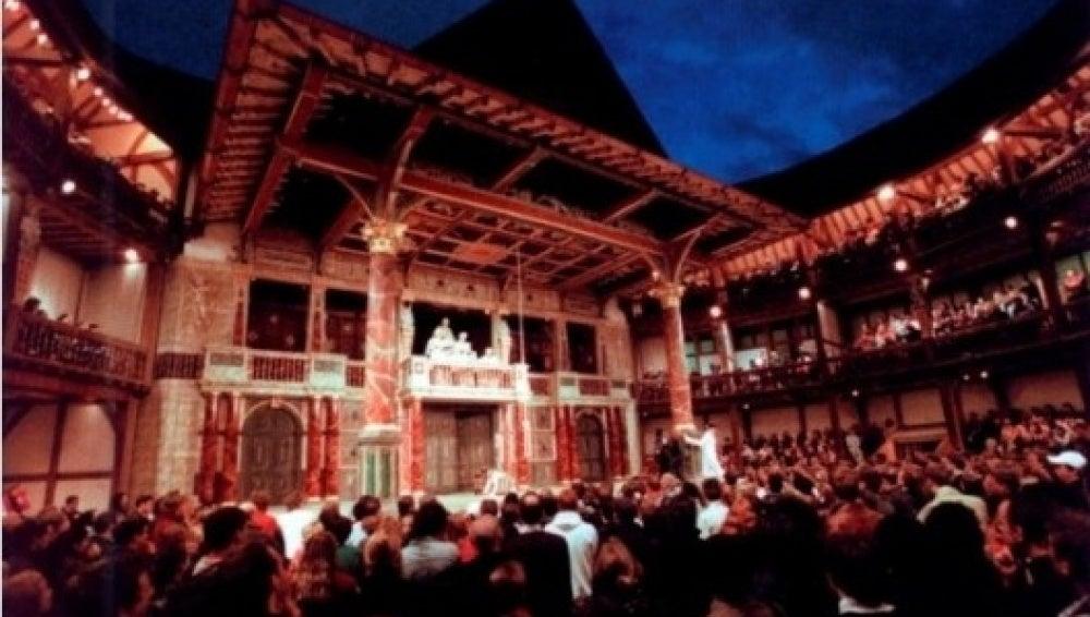 Interior del reconstruido teatro 'The Globe'