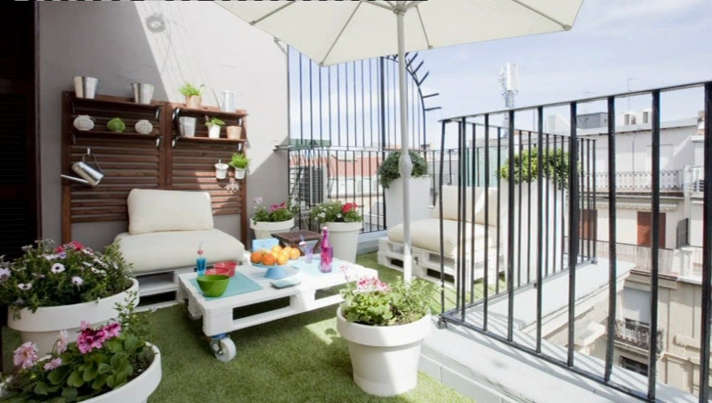 Una terraza muy chill-out