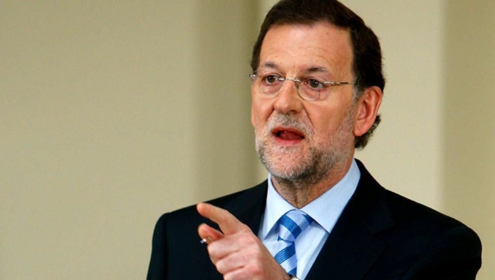 Mariano Rajoy explica el rescate