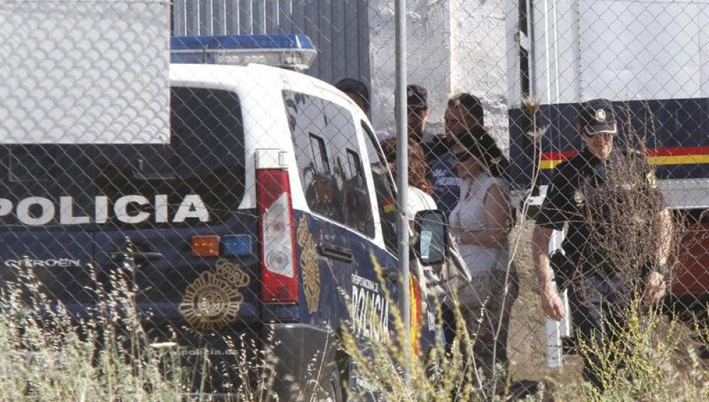 Búsqueda policial en Las Quemadiallas