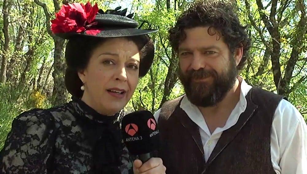 María Bouzas y Mario Zorrilla