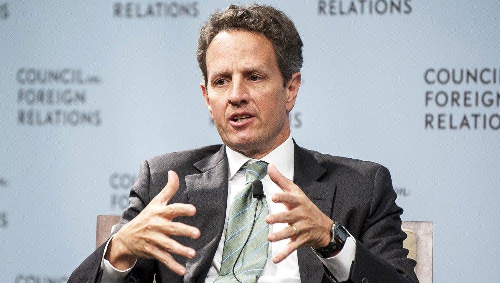 Timothy Geithner, secretario del Tesoro de Estados Unidos