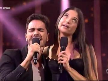 Pablo Vega con Natalia en El Número Uno