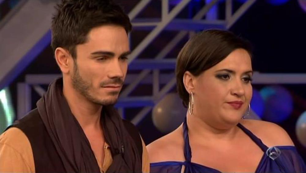 Pablo Vega y Hermi Callejón