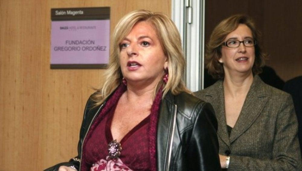 Consuelo Ordóñez, hermana de la víctima de ETA Gregorio Ordóñez