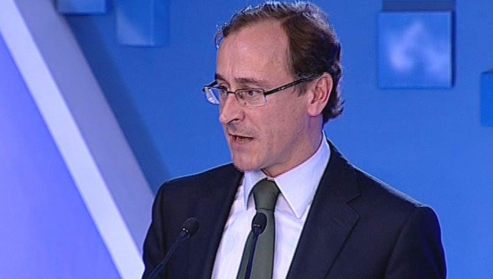 Alfonso Alonso, portavoz del PP