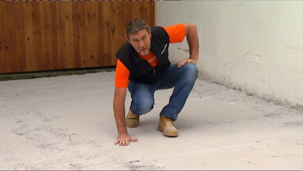 Antena 3 tv una solera de hormig n for Mezcla de hormigon