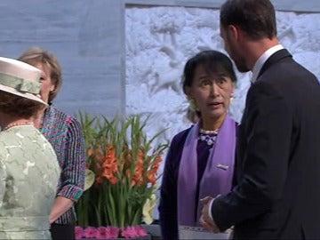 Ceremonia del discurso de recepción del Nobel de la Paz