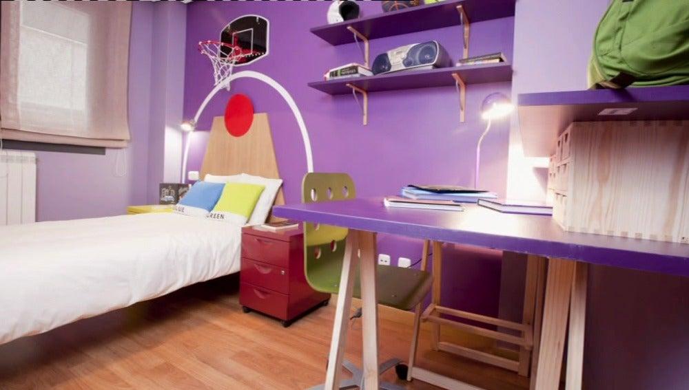 Habitación juvenil y deportiva