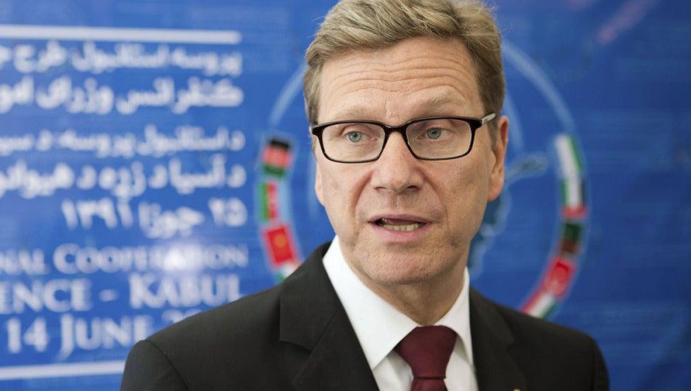 El ministro alemán de Asuntos Exteriores, Guido Westerwelle