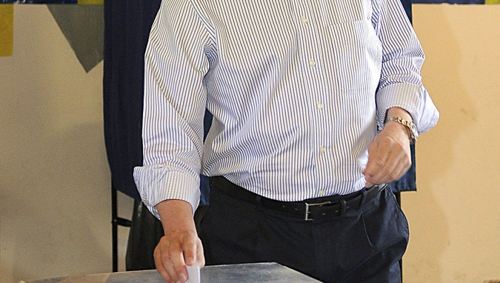 Antonio Samarás, líder de Nueva Democracia