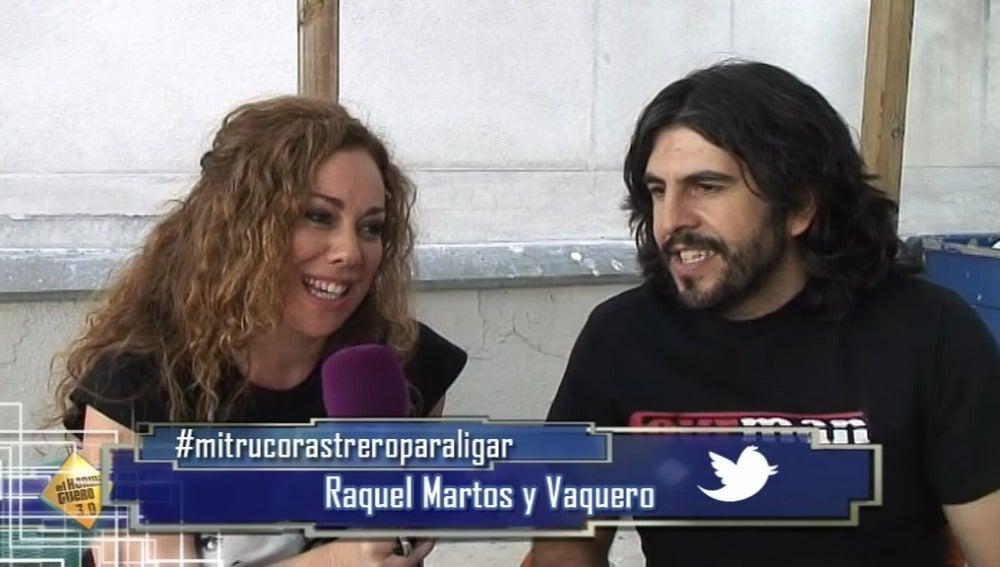 Raquel y Vaquero