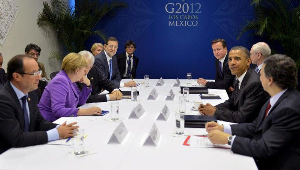 Reunión del G20 en la cumbre.