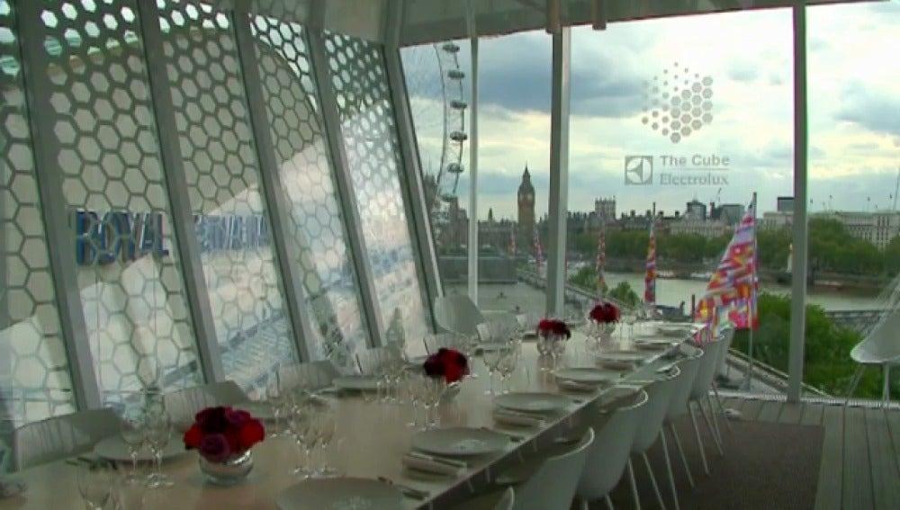 'The Cube', en Londres
