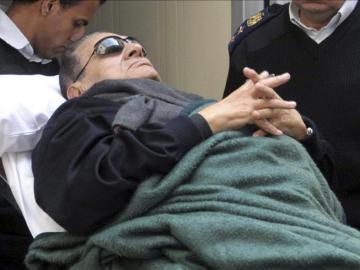 El expresidente egipcio Hosni Mubarak