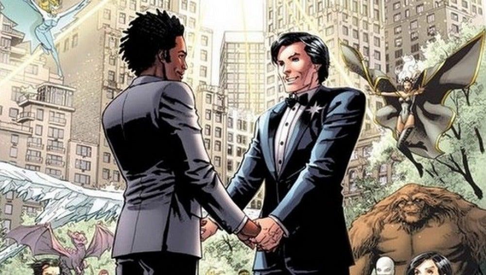 'X-Men' celebra la primera boda gay entre superhéroes