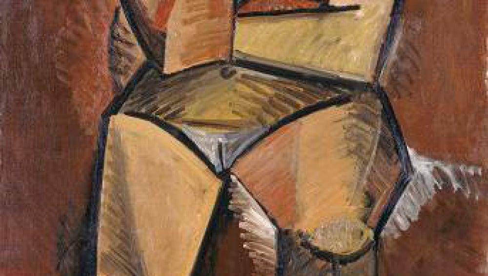'La mujer sentada' de Pablo Picasso.