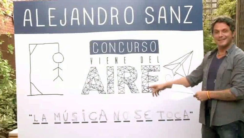 Alejandro Sanz en el vídeo de 'No me compares'