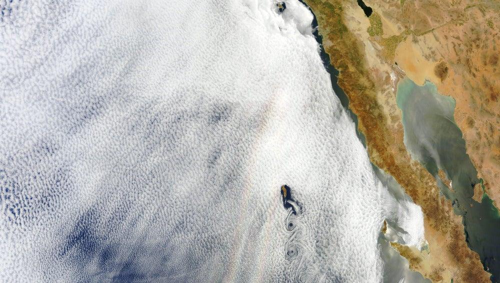 Gloria sobre el Océano Pacífico
