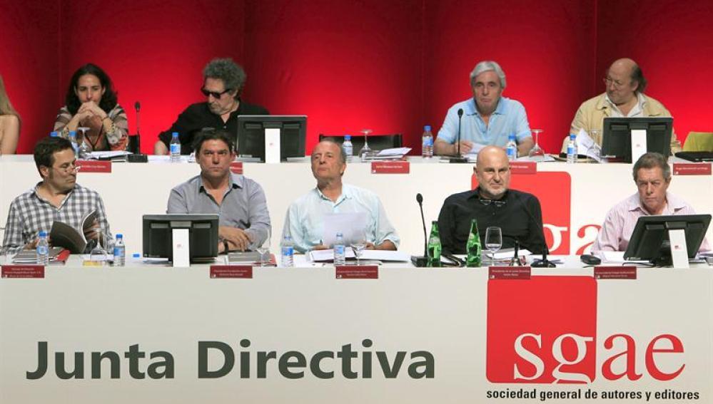 Junta directiva de la SGAE.