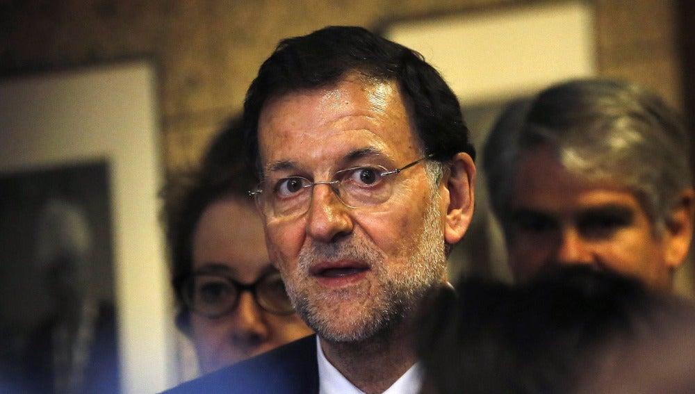 Mariano Rajoy en la cumbre de Bruselas