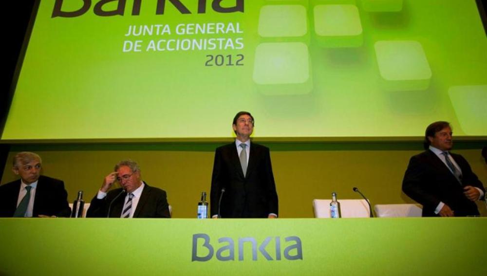 Goirigolzarri se compromete a mejorar la eficiencia de Bankia