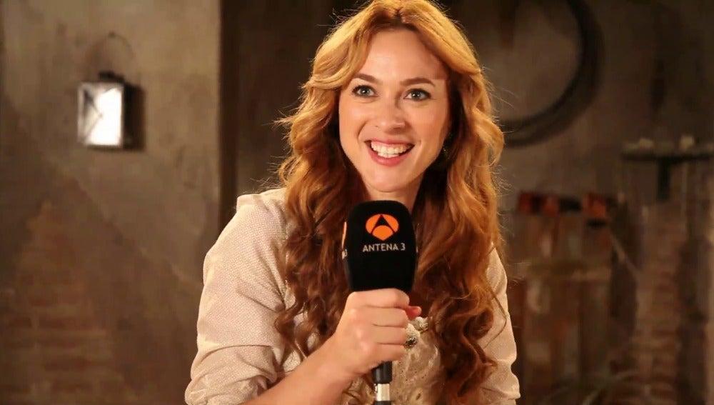 Entrevista a Marta Hazas por el capítulo 400 de Bandolera