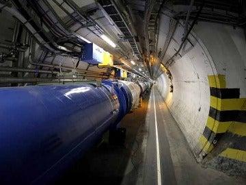 El superconductor que transporta las partículas
