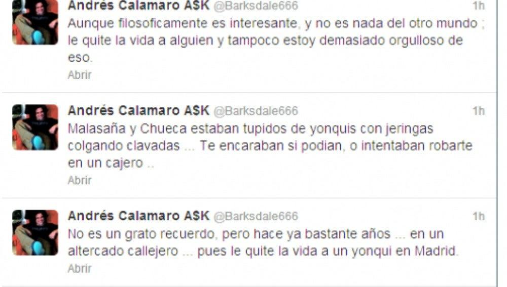 Twitter de Andrés Calamaro