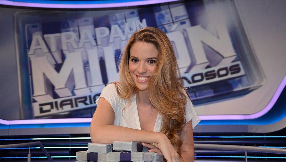 Cristina Lasvignes en Atrapa un millón