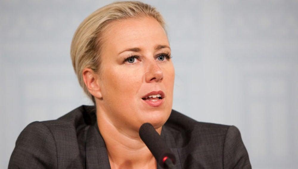 Jutta Urpilainen, ministra de Finanzas finlandesa