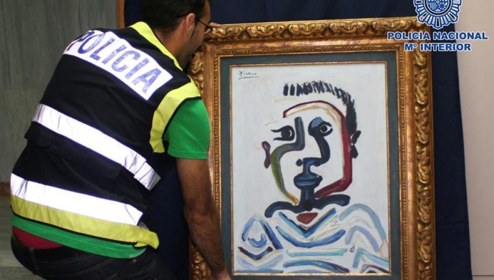 """Falso """"Buste de Jeune Garçon"""" de Pablo Ruiz Picasso"""