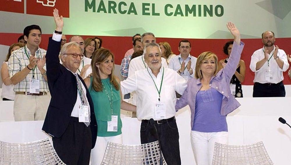 Griñán, reelegido líder de los socialistas andaluces