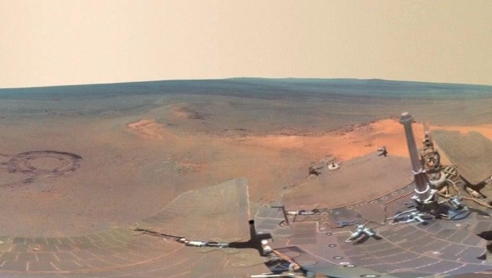 Nuevas imágenes de Marte