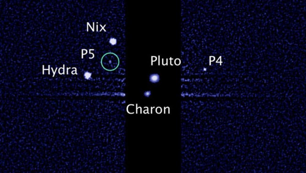 Descubierta una quinta luna en Plutón